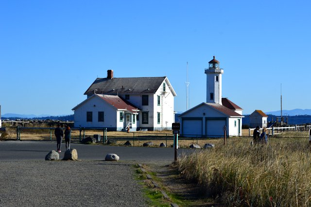 Port Townsend At The Northeastern Tip Of The Olympic